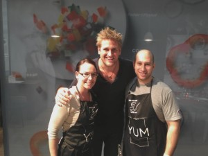 With Curtis Stone @ the Fisher & Paykel YUM Kitchen, Sydney Exhibition Centre (2013)