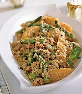 Quinoa Salad with Asparagus and Orange